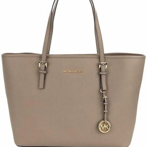 Michael Kors Jet set Leather Handbag